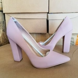 Display - NWT Amazon - Mauve Pointy Toe Pump With